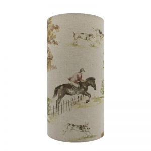 Voyage Horse and Hound Tall Drum Lampshade