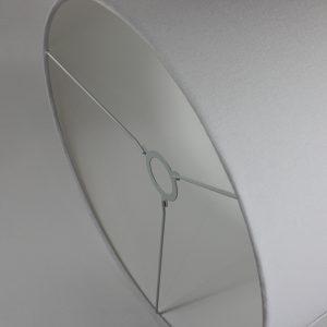 White Drum Lampshade White Inner