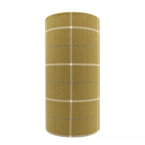 Winsford Ochre Tall Drum Lampshade