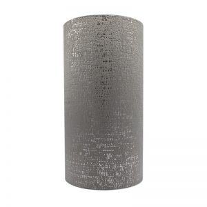 Zinc Velvet Tall Drum Lampshade
