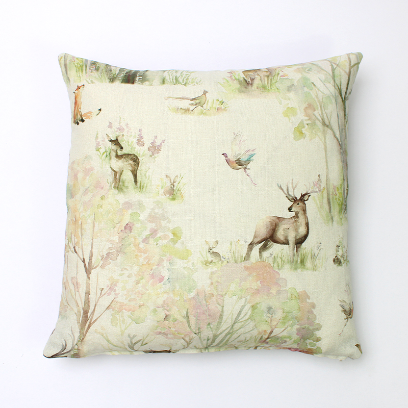 Voyage Enchanted Forest Square Cushion