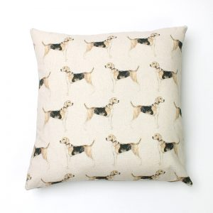 Voyage Hound Square Cushion