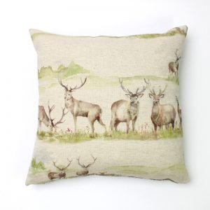 Voyage Moorland Stag Square Cushion