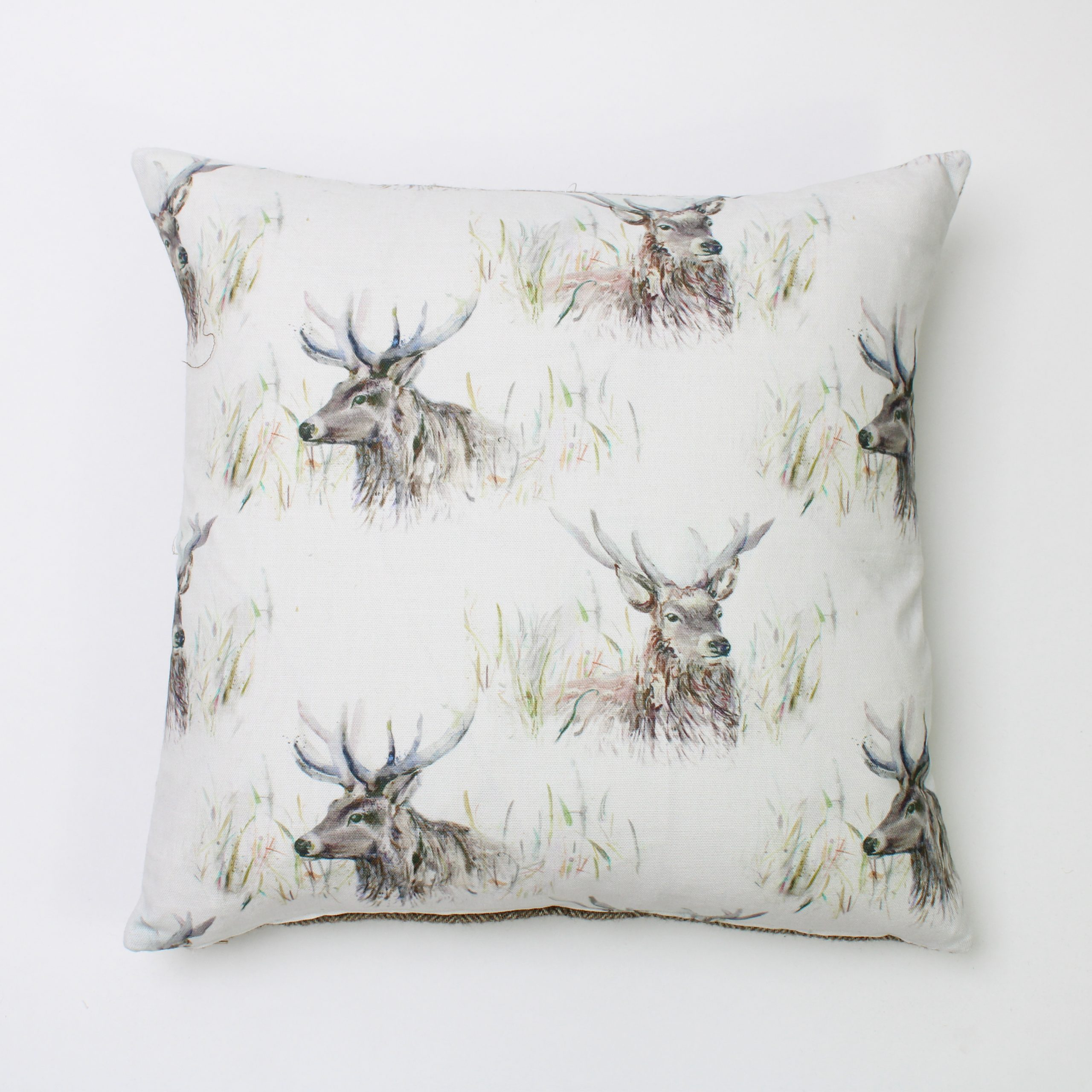 Voyage Wallace Stag Square Cushion