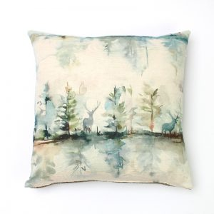 Voyage Wilderness Topaz Square Cushion