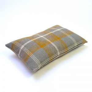 Balmoral Amber Tartan Rectangular Cushion