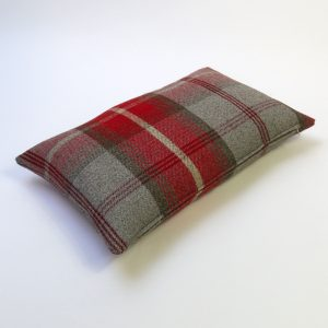 Balmoral Cherry Tartan Rectangular Cushion