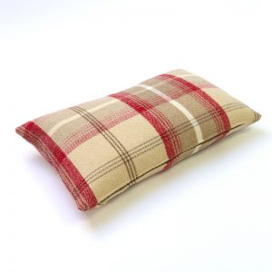 Balmoral Cranberry Tartan Rectangular Cushion