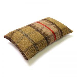 Balmoral Hunter Tartan Rectangular Cushion