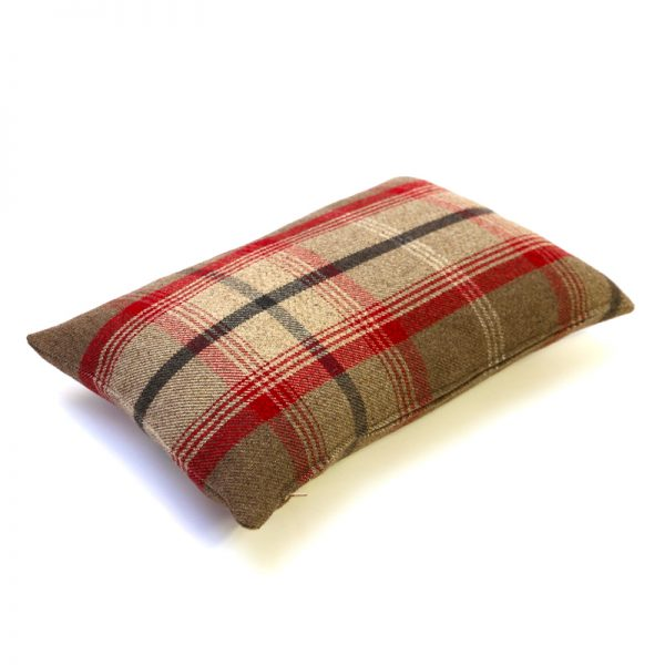 Balmoral Rosso Tartan Rectangular Cushion