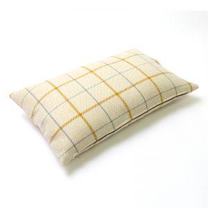 Exford Amber Tartan Rectangular Cushion