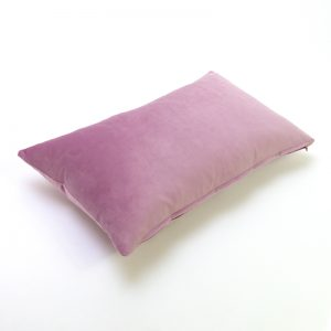 Lavender Velvet Rectangular Cushion