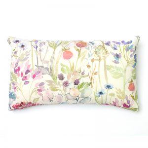 Voyage Hedgerow Pink Rectangular Cushion