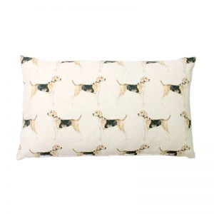 Voyage Hound Rectangular Cushion