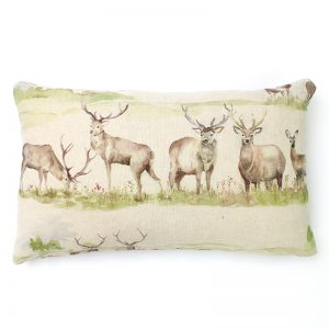 Voyage Moorland Stag Rectangular Cushion