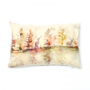 Voyage Wilderness Plum Rectangular Cushion