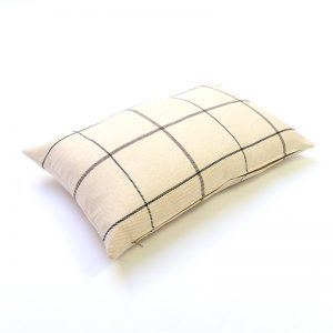 Winsford Cream Tartan Rectangular Cushion