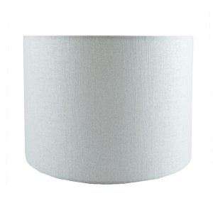 Ivory Satin Drum Lampshade
