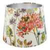 Voyage Hedgerow Coral French Drum Lampshade