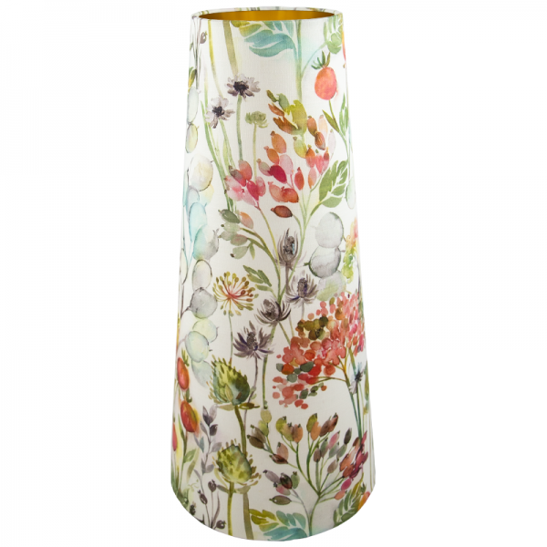 Voyage Hedgerow Coral Tall Tapered Lampshade