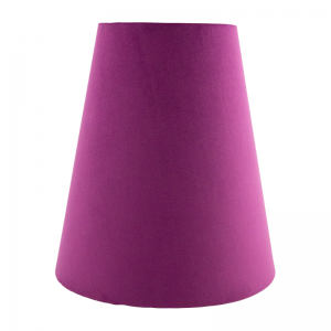 Aubergine Velvet Tall Empire Lampshade
