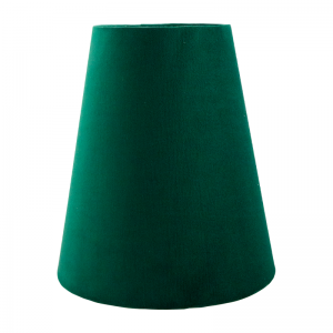 Emerald Green Velvet Tall Empire Lampshade