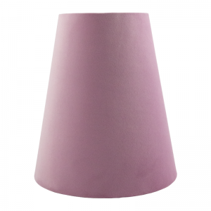 Lavender Velvet Tall Empire Lampshade