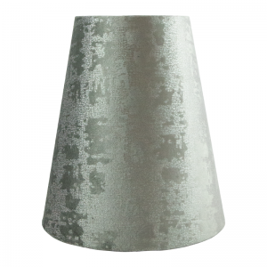 Mercury Grey Velvet Tall Empire Lampshade