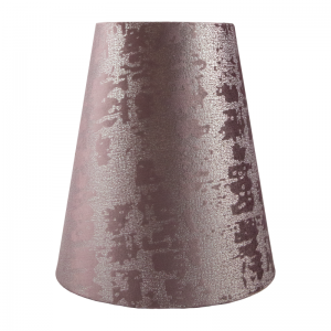Mercury Lavender Velvet Tall Empire Lampshade