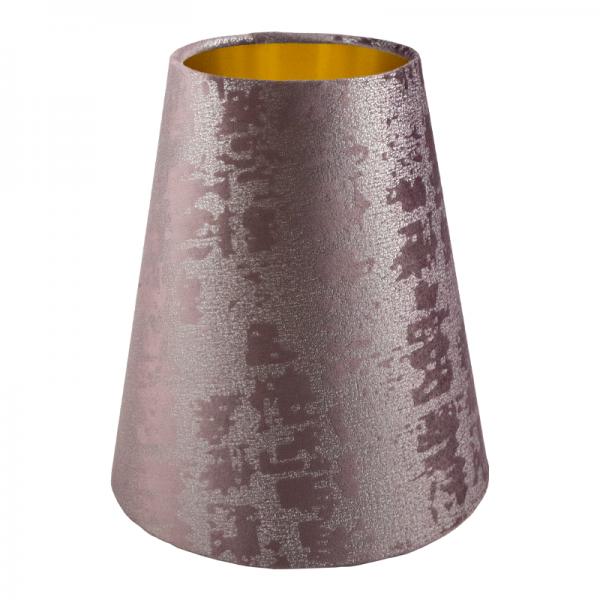 Mercury Lavender Velvet Tall Empire Lampshade