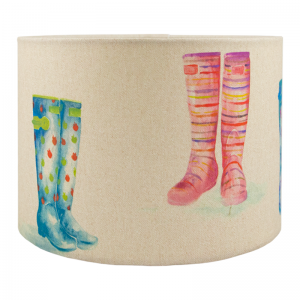 Voyage Welly Boots Drum Lampshade