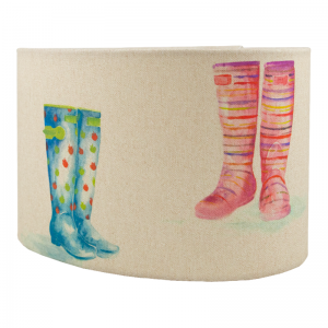 Voyage Welly Boots Oval Lampshade