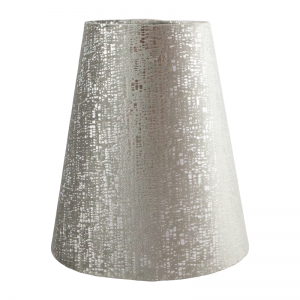 Zink Velvet Tall Empire Lampshade