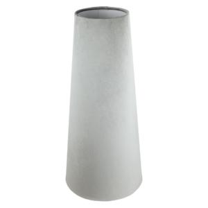 Dove Grey Velvet Tall Tapered Lampshade