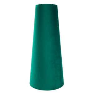 Emerald Green Velvet Tall Tapered Lampshade