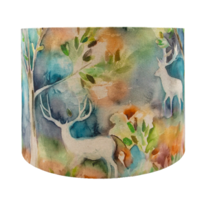 Voyage Seneca Forest Autumn Drum Lampshade