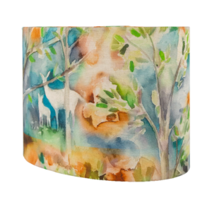 Voyage Seneca Forest Autumn Oval Lampshade