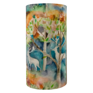 Voyage Seneca Forest Autumn Tall Drum Lampshade