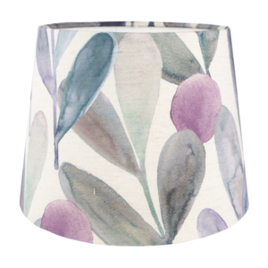 Voyage Enso Violet French Drum Lampshade