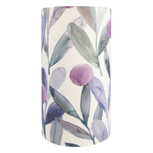 Voyage Enso Violet Tall Drum Lampshade