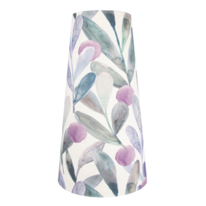 Voyage Enso Violet Tall Tapered Lampshade