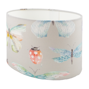 Voyage Garden Wings Oval Lampshade