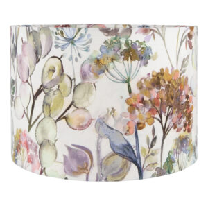 Voyage Hedgerow Dusk Drum Lampshade