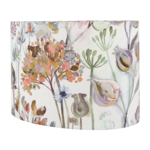 Voyage Hedgerow Dusk Oval Lampshade