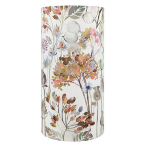 Voyage Hedgerow Dusk Tall Drum Lampshade