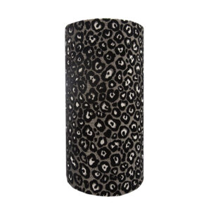 Leopard Print Tall Drum Lampshade