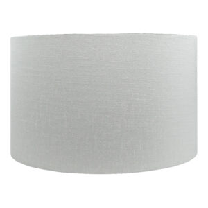 Dove Grey Satin Drum Lampshade