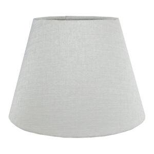 Dove Grey Satin Empire Lampshade