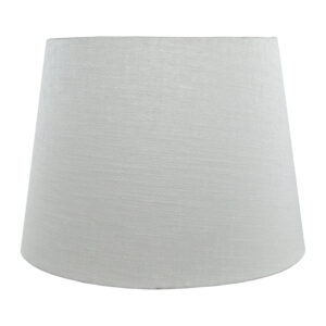Dove Grey Satin French Drum Lampshade