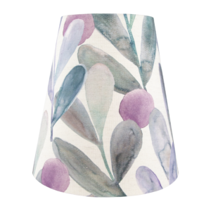 Voyage Enso Violet Tall Empire Lampshade